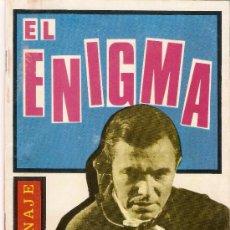 Tebeos: EL ENIGMA - ESPIONAJE - EDICIONES TORAY - Nº 18 -1965. Lote 30108647
