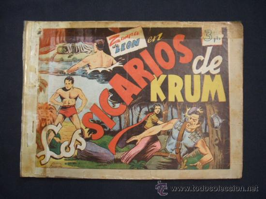 ZARPA DE LEON - ALBUM Nº 2 - CONTIENE 3 TEBEOS - EDICIONES TORAY - (Tebeos y Comics - Toray - Zarpa de León)
