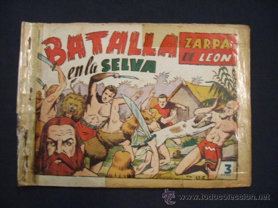 ZARPA DE LEON - ALBUM Nº 5 - CONTIENE 3 TEBEOS - EDICIONES TORAY - (Tebeos y Comics - Toray - Zarpa de León)