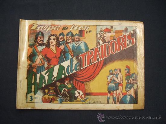 ZARPA DE LEON - ALBUM Nº 8 - CONTIENE 3 TEBEOS - EDICIONES TORAY - (Tebeos y Comics - Toray - Zarpa de León)