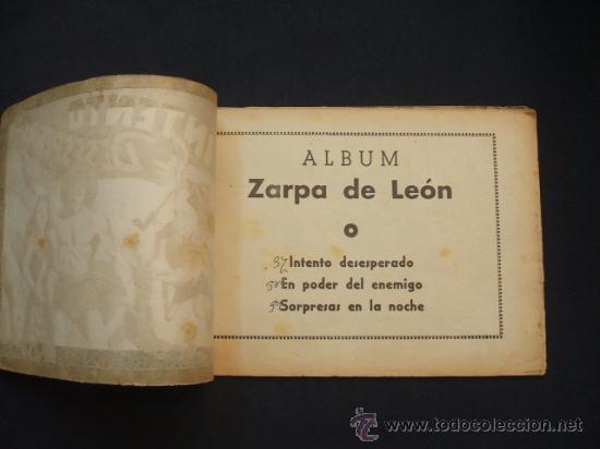 Tebeos: ZARPA DE LEON - ALBUM Nº 13 - CONTIENE 3 TEBEOS - EDICIONES TORAY - - Foto 2 - 30108795