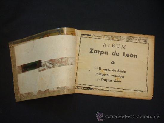 Tebeos: ZARPA DE LEON - ALBUM Nº 12 - CONTIENE 3 TEBEOS - EDICIONES TORAY - - Foto 2 - 30108917