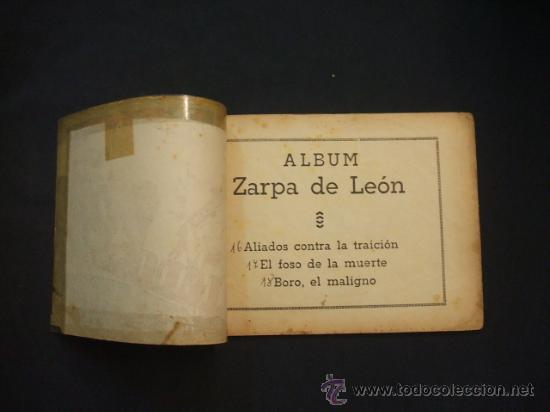 Tebeos: ZARPA DE LEON - ALBUM Nº 6 - CONTIENE 3 TEBEOS - EDICIONES TORAY - - Foto 2 - 30109429