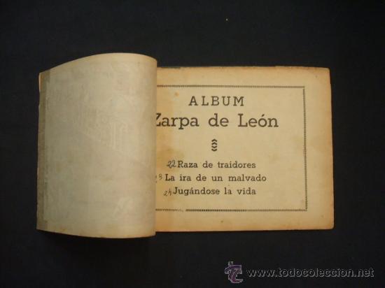 Tebeos: ZARPA DE LEON - ALBUM Nº 8 - CONTIENE 3 TEBEOS - EDICIONES TORAY - - Foto 2 - 30109454