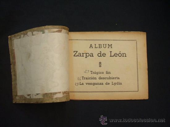 Tebeos: ZARPA DE LEON - ALBUM Nº 9 - CONTIENE 3 TEBEOS - EDICIONES TORAY - - Foto 2 - 30109510