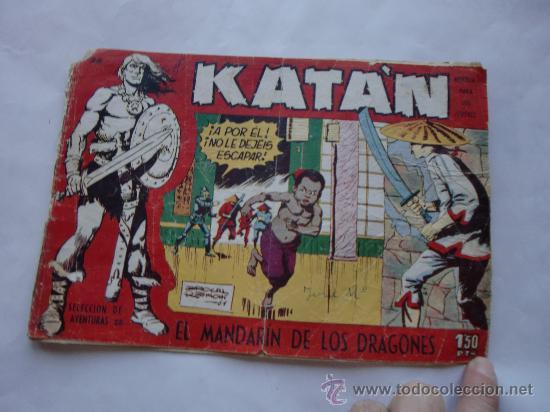 KATAN Nº 28 ORIGINAL (Tebeos y Comics - Toray - Katan)