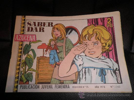 AZUCENA Nº 1143 TORAY (Tebeos y Comics - Toray - Azucena)