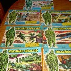 Tebeos: LOTE 6 HAZAÑAS BELICAS (Nº 89-90-96-104-143-180). Lote 30257996