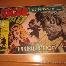 Tebeos: SIGUR EL WIKINGO Nº 31.EDICIONES TORAY. Lote 30350201