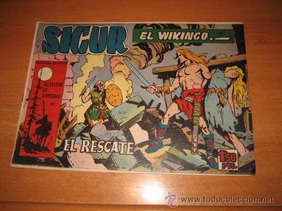 SIGUR EL WIKINGO Nº 30.EDICIONES TORAY (Tebeos y Comics - Toray - Otros)