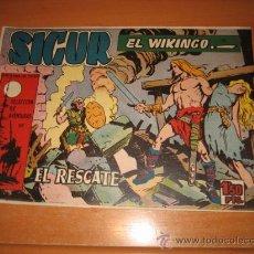 Tebeos: SIGUR EL WIKINGO Nº 30.EDICIONES TORAY. Lote 30350251