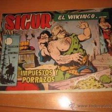 Tebeos: SIGUR EL WIKINGO Nº 29.EDICIONES TORAY. Lote 30350264