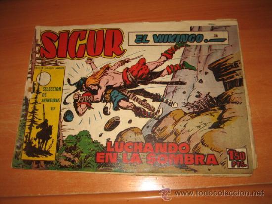 SIGUR EL WIKINGO Nº 28.EDICIONES TORAY (Tebeos y Comics - Toray - Otros)