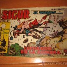 Tebeos: SIGUR EL WIKINGO Nº 28.EDICIONES TORAY. Lote 30350294