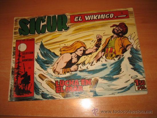 SIGUR EL WIKINGO Nº 26.EDICIONES TORAY (Tebeos y Comics - Toray - Otros)