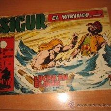 Tebeos: SIGUR EL WIKINGO Nº 26.EDICIONES TORAY. Lote 30350364