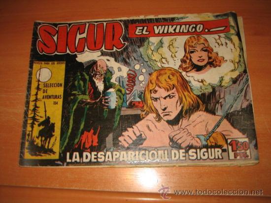 SIGUR EL WIKINGO Nº 5.EDICIONES TORAY (Tebeos y Comics - Toray - Otros)