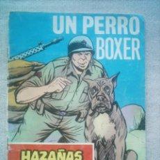 Tebeos: HAZAÑAS BELICAS Nº 242 UN PERRO BOXER / TORAY 1968. Lote 194534816