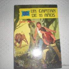 Tebeos: UN CAPITAN DE 15 AÑOS .JULIO VERNE EDICIONES TORAY AÑO 1978. Lote 30624107