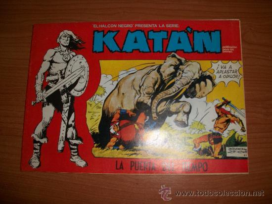 KATÁN COLECCION COMPLETA 10 NUMEROS URSUS 1980 (Tebeos y Comics - Toray - Katan)