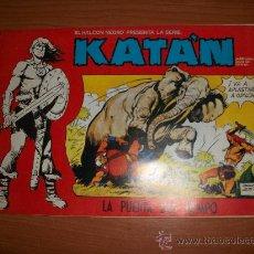 Giornalini: KATÁN COLECCION COMPLETA 10 NUMEROS URSUS 1980 . Lote 41571572