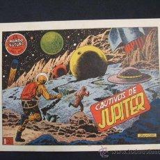 Tebeos: EL MUNDO FUTURO - AÑO I - Nº 18 - CAUTIVOS DE JUPITER - EDIC TORAY - -. Lote 30714896