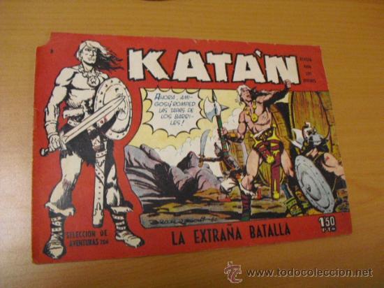 KATAN Nº 3, DE TORAY 1958 (Tebeos y Comics - Toray - Katan)