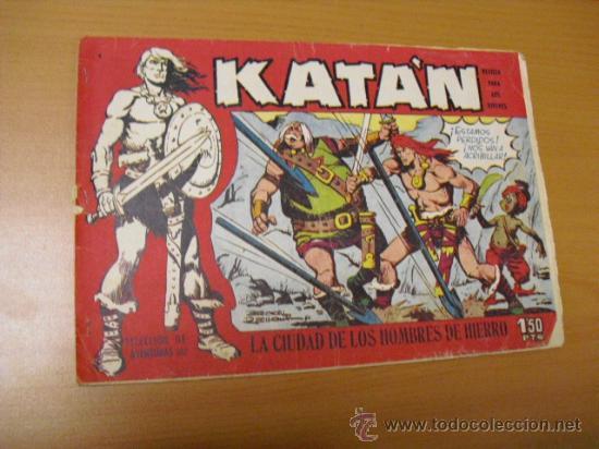 KATAN Nº 4, DE TORAY 1958 (Tebeos y Comics - Toray - Katan)