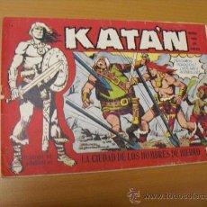 Tebeos: KATAN Nº 4, DE TORAY 1958. Lote 30972676