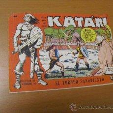 BDs: KATAN Nº 40, DE TORAY 1958. Lote 30972917