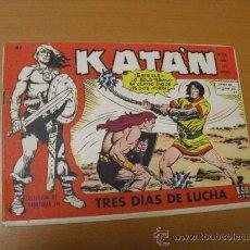 BDs: KATAN Nº 41, DE TORAY 1958. Lote 30972955