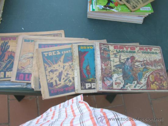 RAYO KIT ORIGINAL IRANZO COMPLETA LEER DESCRIPCION CJ11 (Tebeos y Comics - Toray - Otros)