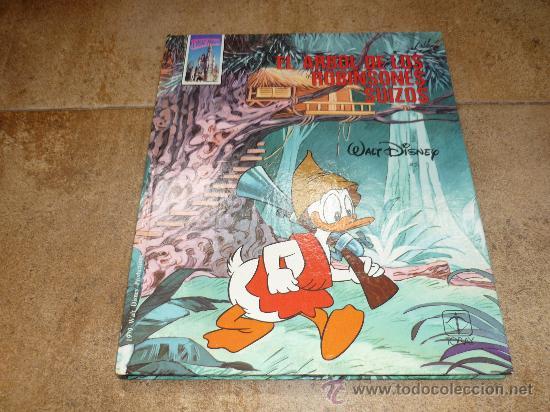EL ARBOL DE LOS ROBINSONES SUIZOS WALT DISNEY TORAY 1979 TOMO 8 (Tebeos y Comics - Toray - Otros)