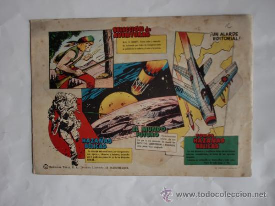 Tebeos: MUNDO FUTURO Nº 53 ORIGINAL - Foto 2 - 31275346