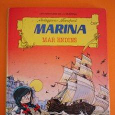 Tebeos: LES AVENTURES DE LA MARINA Nº 2 MAR ENDINS . TORAY 1987 .. Lote 31661054