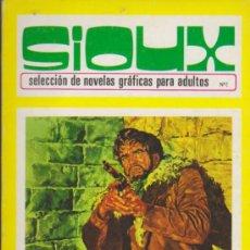 Tebeos: SIOUX Nº 2. TORAY 1972. (96 PÁGINAS). Lote 31911816
