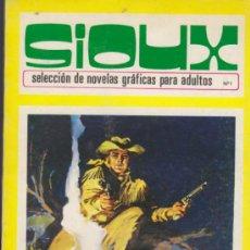 Tebeos: SIOUX Nº 1. TORAY 1972. (96 PÁGINAS). Lote 31911873