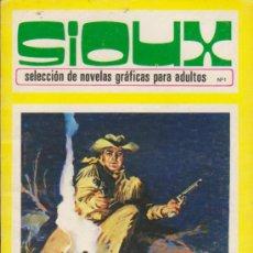Tebeos: SIOUX Nº 1. TORAY 1972. (96 PÁGINAS). Lote 31911889
