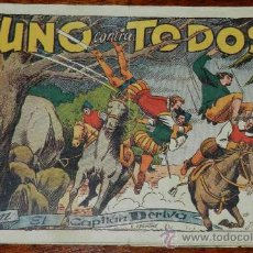 Tebeos: EL CAPITAN DERIVA Nº 5 - EDICIONES TORAY 1951,. Lote 31949930