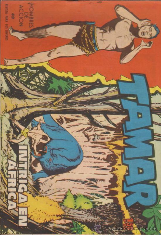 TAMAR Nº 49. TORAY 1961. SIN ABRIR (Tebeos y Comics - Toray - Tamar)