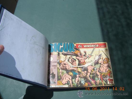 SIGUR EL VIKINGO COMPLETA ENCUADERNADA VER FOTOS (Tebeos y Comics - Toray - Otros)