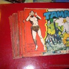 Tebeos: TAMAR COMPLETA 186 ORIGINAL 1961. Lote 32196016