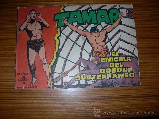 TAMAR Nº 80 DE TORAY (Tebeos y Comics - Toray - Tamar)