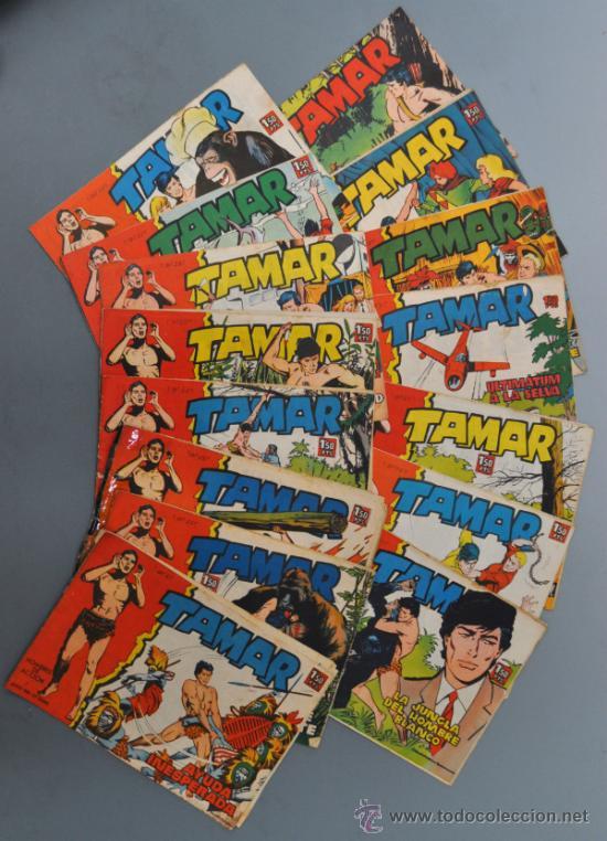 LOTE DE 15 TAMAR, EDICIONES TORAY. (Tebeos y Comics - Toray - Tamar)