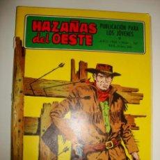 Tebeos: HAZAÑAS DEL OESTE NÚMERO 167 (1968). Lote 32341119