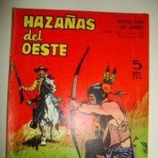 Tebeos: HAZAÑAS DEL OESTE NÚMERO 139 (1967). Lote 32341123