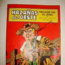 Tebeos: HAZAÑAS DEL OESTE NÚMERO 175 (1968). Lote 32341136