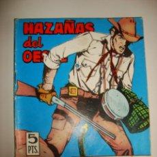 Tebeos: HAZAÑAS DEL OESTE NÚMERO 122 (1966). Lote 32341144