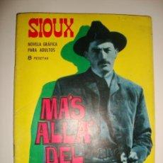 Tebeos: SIOUX NÚMERO 54. CONTRAPORTADA A COLOR DE MAY BRITT. (1966). Lote 32341291