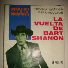 Tebeos: SIOUX NÚMERO 70. CONTRAPORTADA A COLOR DE ENCARNITA POLO. (1966). Lote 32341319